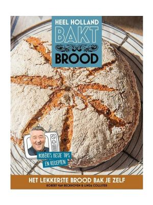 BOEK Heel Holland Bakt Brood