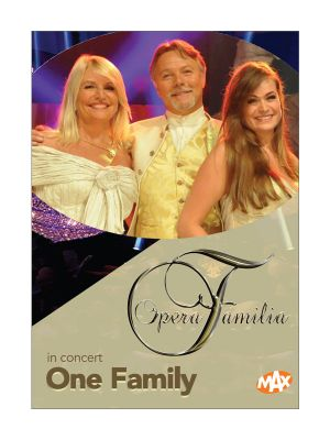 DVD Opera Familia - One Family