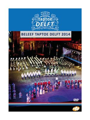 DVD Taptoe Delft 2014, 2 registraties